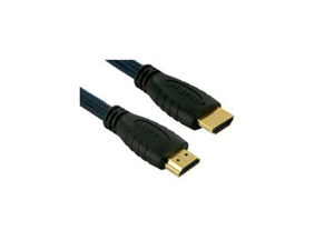 Sewell Premium Grade HDMI High Speed W/ 28 AWG conductors 340 MHZ Braided Jacket Gold Plated Ethernet Cable 6 ft
