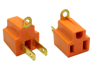 Cable Wholesale 3 Prong to 2 prong grounding converter