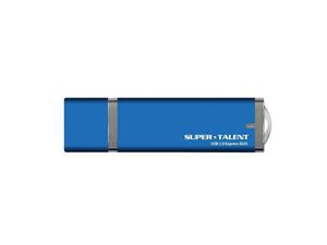 Super Talent 16GB Express Duo USB 3.0 Compact Size Flash Drive (ST3U16EDB-16GB) - Blue