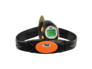 Pyle Heart Rate Monitor Watch With Minimum, Average Heart Rate, Calorie Counter, and Target Zones