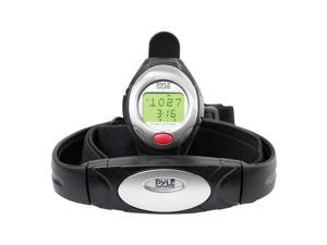 Pyle One Button Heart Rate Watch W/Minimum, Average Heart Rate