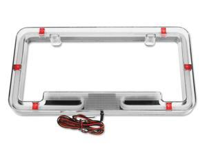 Plasmaglow Neon License Plate Frame - Red