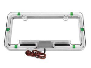 Plasmaglow Neon License Plate Frame - Green