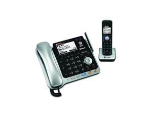 Vtech 2 Line Corded Cordless Answering System Speakerphone Handset with ITAD Black