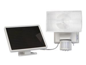 Solar-Powered 80 Led Security Floodlight -Off White