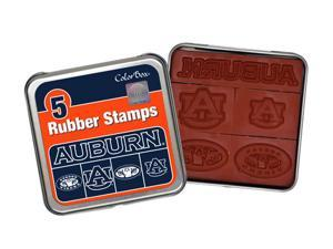Clearsnap Auburn University Sports Team Logo Colorbox Stamp Set Orange, Blue