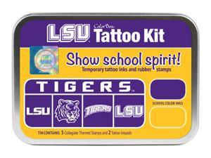 Clearsnap Louisiana State University Sports Colorbox Tattoo Kit Purple, Gold