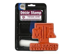 Clearsnap School Texas A  M Sports Team Logo Licensed Colorbox Decor Stamp