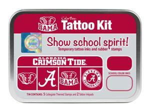 Clearsnap University of Alabama Sports Colorbox Tattoo Kit Crimson, Light Silver