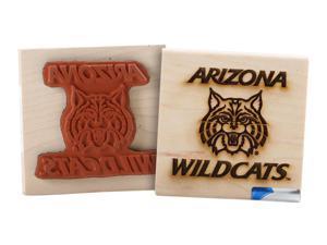 Clearsnap University of Arizona Sports Team Logo Wood Mount Rubber Stamp