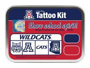 Clearsnap University of Arizona Sports Team Logo Colorbox Tattoo Kit Red, Blue