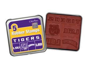 Clearsnap Louisiana State University Sports Logo Colorbox Stamp Set Purple, Gold
