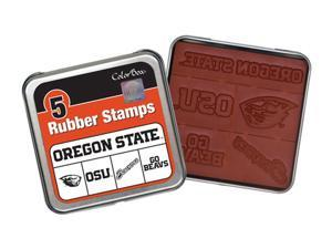 Clearsnap Oregon State University Sports Logo Colorbox Stamp Set Orange, Black