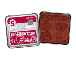 Clearsnap University of Alabama Sports Colorbox Stamp Set Crimson, Light Silver