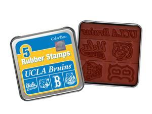 Clearsnap University of California, Los Angeles Colorbox Stamp Set Blue, Gold