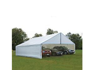 ShelterLogic 30x50 Feet Outdoor Camping Hiking Travel White Canopy Enclosure Kit