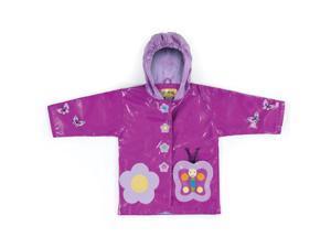 Kidorable Kids Children Outwear Butterfly PU Rain Coats Size 3T