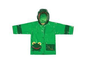 Kidorable Kids Children Outwear Frog PU Coats Size 3T