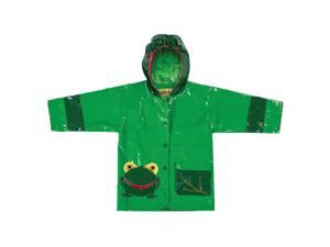 Kidorable Kids Children Outwear Frog PU Coats Size 4T
