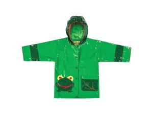 Kidorable Kids Children Outwear Frog PU Coats Size 4/5