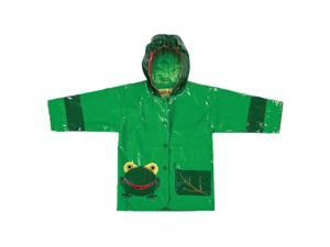 Kidorable Kids Children Outwear Frog PU Coats Size 5/6