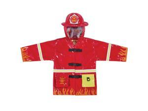 Kidorable Kids Children Outwear Red Fireman PU Coats Size12-18 Months