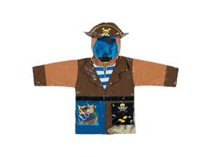 Kidorable Kids Children Outwear Pirate PU Coats Size 6/6X
