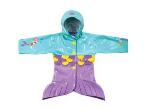 Kidorable Kids Children Outwear Mermaid PU Coats Size12-18 Months