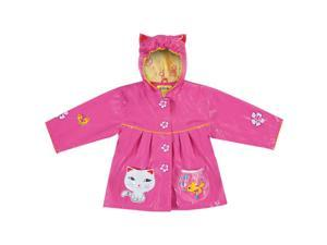 Kidorable Kids Children Outwear Lucky Cat PU Coats Size 3T
