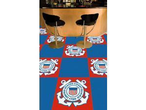 "Fanmats Coast Guard Carpet Tiles 18""x18"""