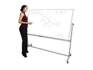 Offex Reversible Magnetic Adjustable Whiteboard 72W X 40H