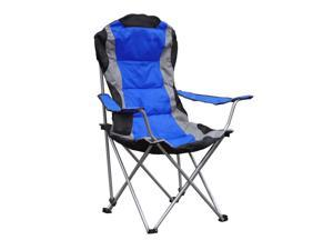 Giga Tents Folding Outdoor Beach Camping Chair,  BLUE