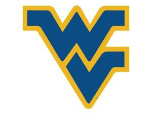 Fremont Die College Sports Team Logo West Virginia Mountaineers Door Stick Vinyl Magnet