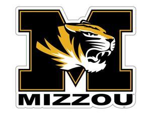 Fremont Die College Sports Team Logo Missouri Tigers Door Stick Vinyl Magnet
