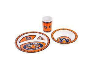 BSI Auburn Tigers Kid's 3 Pc. Dish Set