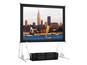 "High Contrast Rear Projection Fast-Fold Truss Frame Complete Screens 16' x 27'6"" Area 15' x 26'6"""