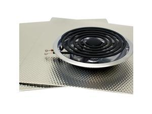 """Range Kleen Canning Element And Drip Bowls Large / 8"""" And 2 17x20"""" Counter Mats"""