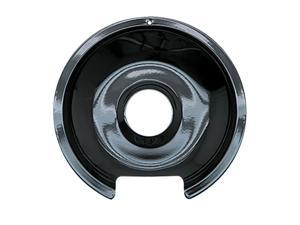 Range Kleen 8in. Black Porcelain GE-Hotpoint Reflector Drip Pan  P106