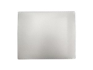 "Range Kleen Kitchen Tabletop Counter Mat ""Silverwave"" 14x17"" With Rubber Backing"