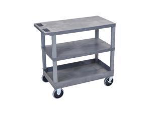 Offex Gray EC221HD 18x32 Cart 2 Flat/1 Tub Shelves