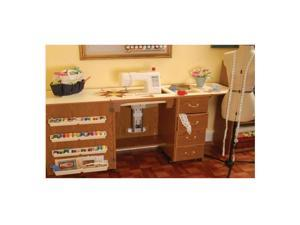 Arrow Sewing Cabinet Norma Jean Oak Model Storage Furniture