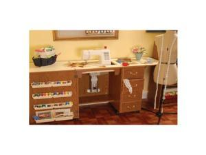 Arrow Sewing Cabinet Norma Jean White Model Storage Furniture