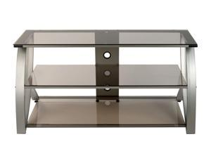 Studio Design Futura Advanced Entertainment TV Stand Champagne and Bronze Glass