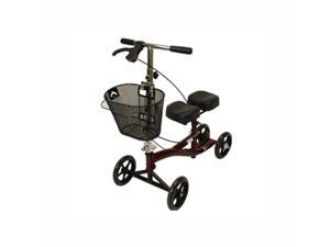 Roscoe Medical ROS-KSBG Knee Scooter, Mahogany Red