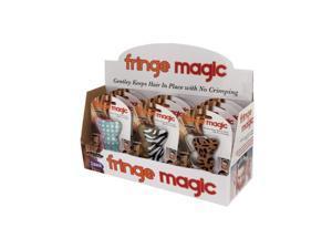 Bulk Buys Fringe Magic Hair Bows Counter Top Display Case Of 12