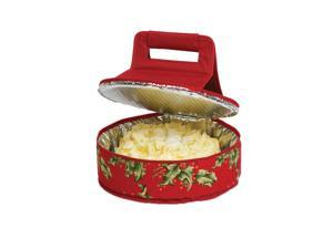 12 in. Round Cake Carrier in Red