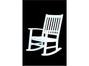 Anderson Teak Patio Lawn Furniture Barcelona Rocking Armchair