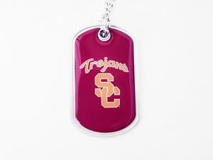 University of Southern California Trojans Dog Fan Tag Necklace - NCAA