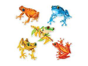 """Beistle Mini Frog Cutouts 4.5"""" (10 Count)- Pack of 24"""