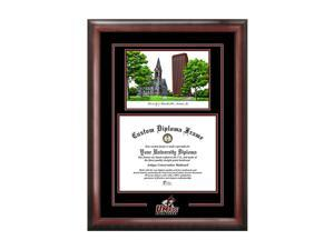 Campus Images University Of Massachusetts Spirit Graduate Frame With Campus Image